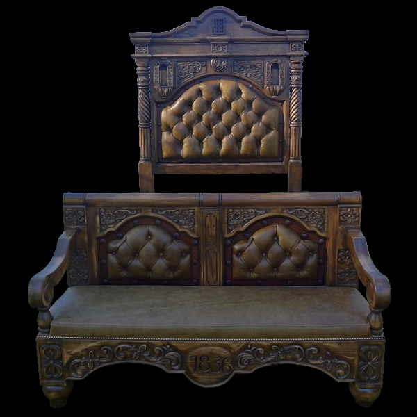 Ranchers bed high style western furniture the best in for Western style furniture and decor