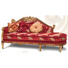 Chaise High Style Luxury Furniture. Ravishing Red