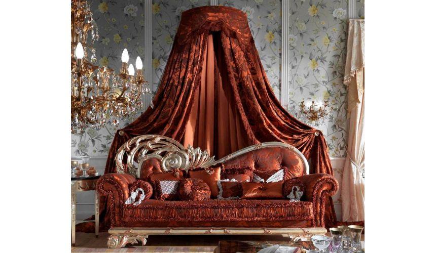 Furniture Masterpieces High Style Luxury Sofa. Ravishing Red