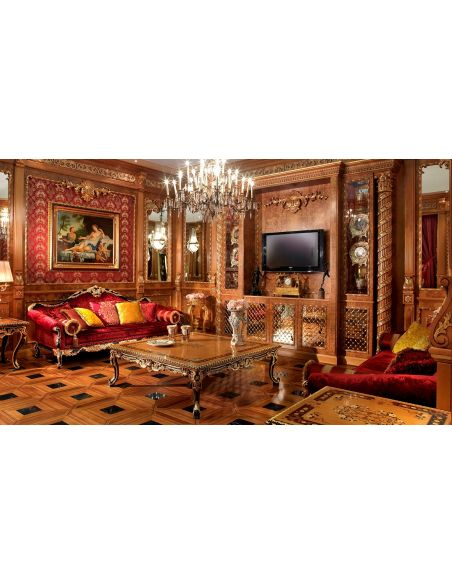 1 Empire style high end sofa.