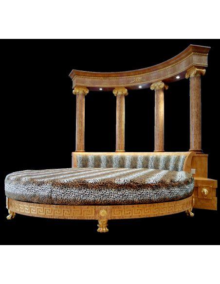 BEDS - Queen, King & California King Sizes Empire Rotunda Bed. Sleep like a Tsar