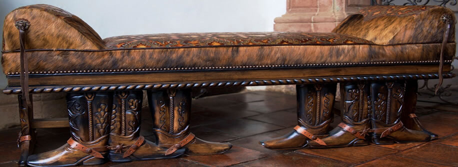Western style and snooty cowgirl furnishings