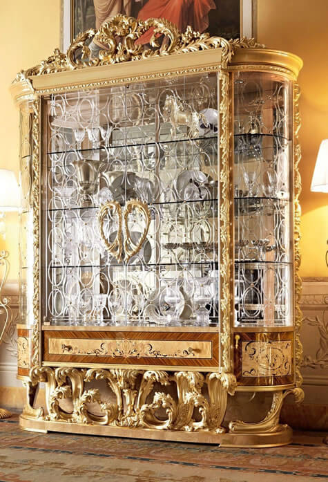 Luxury dining furniture exquisite boulle marquetry work european made boulle is a traditional