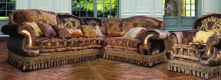 Luxury sofa or couch