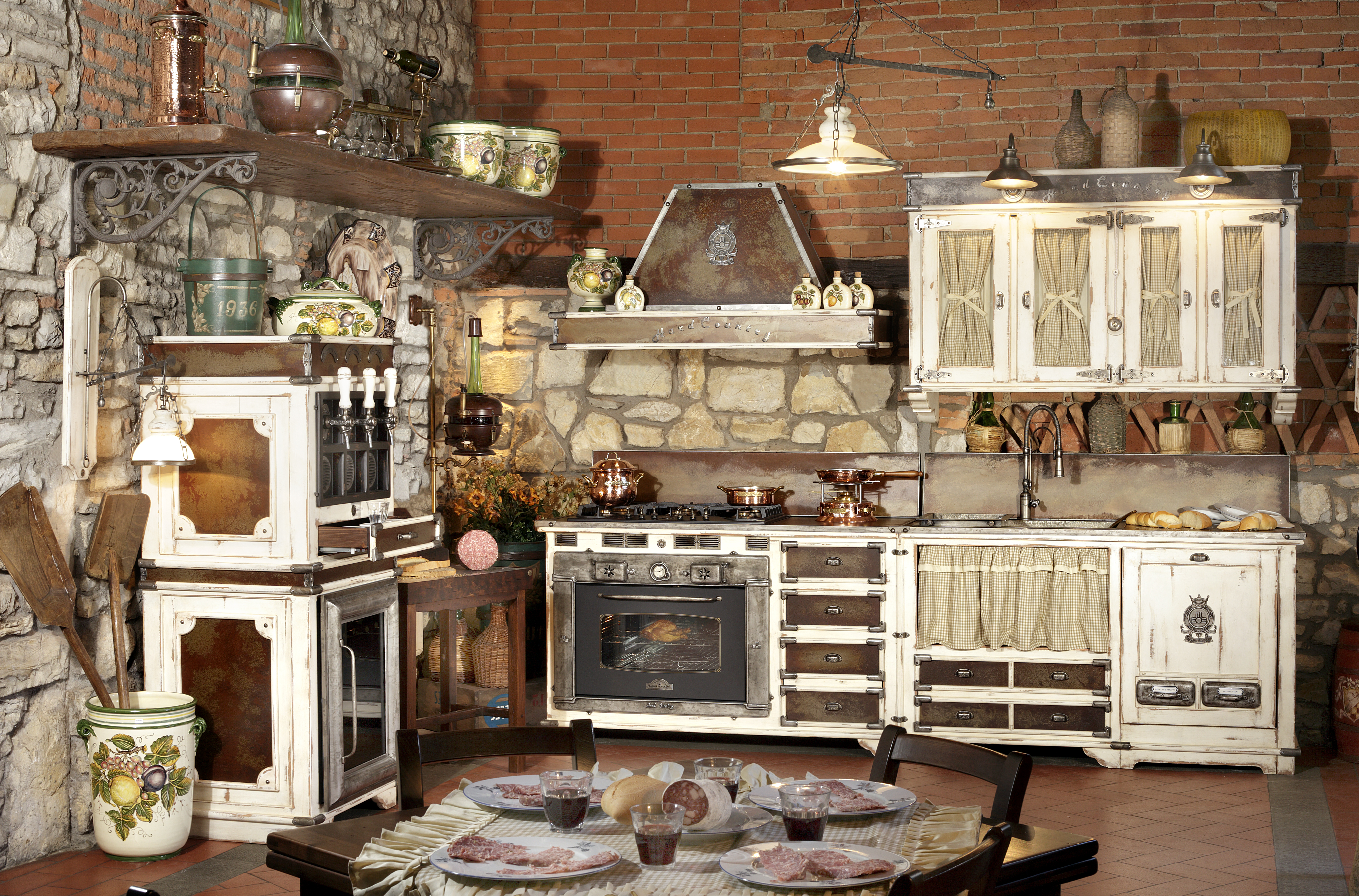 Country Style Kitchen Cabinets Part 88
